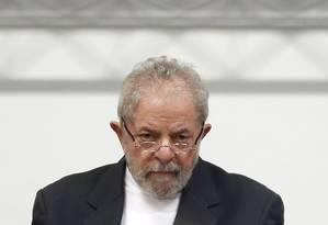 O ex-presidente Luiz Inacio Lula da Silva participa de seminário em São Paulo Foto: Edilson Dantas / Agência O Globo 29/07/2016