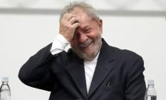 Ex-presidente Lula participa do Seminario Sistema Financeiro e Sociedade, organizado pela Confederação Nacional dos Trabalhadores do Ramo Financeiro Foto: Edilson Dantas / Agência O Globo