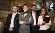 Equipe do JW Marriott, que ficou com o primeiro lugar pelo terceiro ano consecutivo Foto: Agência O Globo