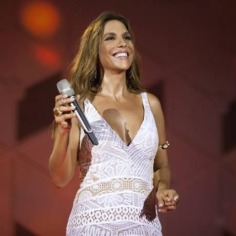 A cantora Ivete Sangalo Foto: Rafa Mattei / Divulgação