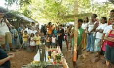 17.02.2005 - Ailton de Freitas - PA - Agricultores indo PDS onde Irmã Dorothy Stang foi assassinada na Cidade Anapu o Oeste do Pará.Especial Fim de Semana Foto: Ailton de Freitas / 0 Ailton de Freitas Sucursal de Brasília 17.02.2005
