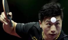 Ma Long quer o título que falta: o ouro olímpico Foto: Aly Song / Reuters