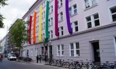 Sede da Schwulenberatung, organização de direitos LGBT baseada em Berlim Foto: Divulgação