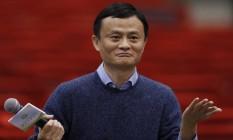 Jack Ma, fundador do grupo Alibaba, integra o consórcio chinês que adquiriu a Caesars Foto: Kin Cheung / Kin Cheung/AP/02-02-2015