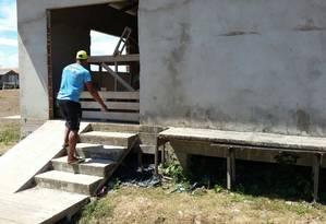 Gestão municipal: uma das unidades de Saúde não concluídas em Chaves (PA); obras são alvo do MP Foto: Ministério Público do Pará