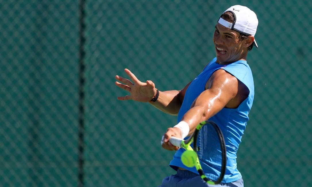 Ouro em Pequim-2008, o tenista Rafael Nadal será o porta-bandeira da Espanha Pedro Kirilos / Agência O Globo