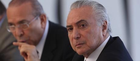 O presidente interino, Michel Temer Foto: ANDRE COELHO / Agência O Globo
