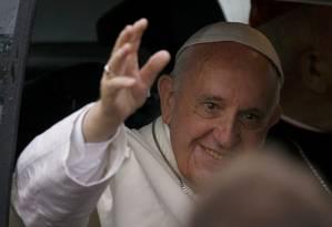 O Papa Francisco esteve semana passada na Polônia, na Jornada Mundial da Juventude Foto: KACPER PEMPEL / REUTERS