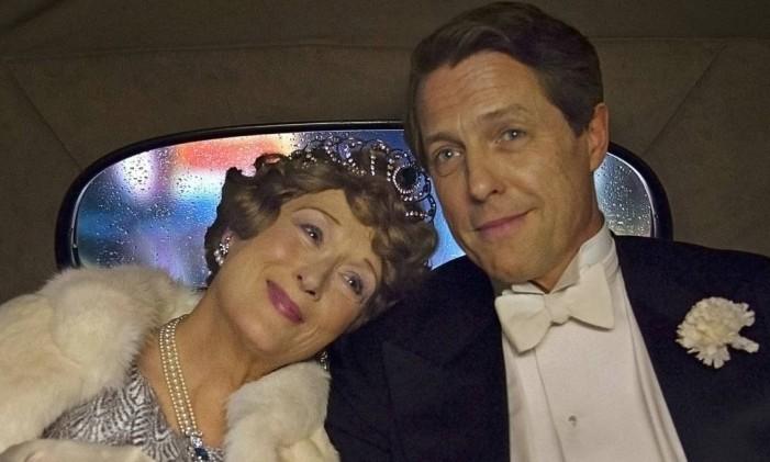 Meryl Streep e Hugh Grant em 'Florence: Quem é essa mulher?' Foto: Divulgação