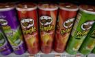 Pringles, batata frita da Procter & Gamble Foto: Daniel Acker / Bloomberg