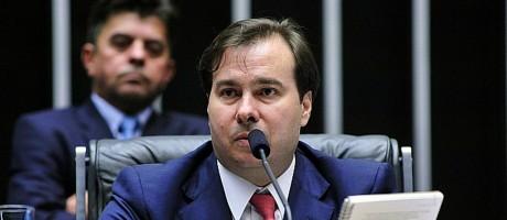 O presidente da Câmara, Rodrigo Maia (DEM-RJ) Foto: Luis Macedo / Agência Câmara 02/08/2016
