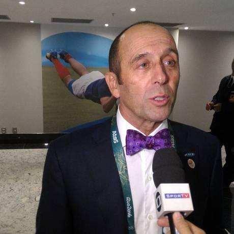 O presidente da Associação Internacional de surte, Fernando Aguerre Foto: Miguel Caballero/O Globo