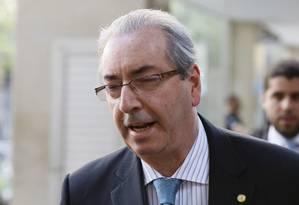 O deputado afastado Eduardo Cunha Foto: Pablo Jacob / Agência O Globo/ 01/08/2016