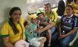 O médico Fabio Reis veio do Pará com a família para assistir às partidas no Engenhão