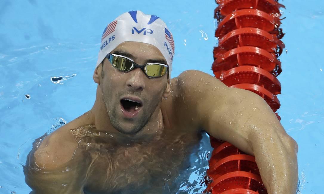 Michael Phelps fala sobre seus desafios no Rio-2016 Matt Slocum / AP