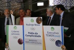 PSOL cobra votação da cassação de Cunha no plenário da Câmara Foto: Ailton de Freitas / Agência O Globo