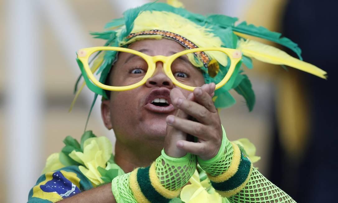 O Engenhão voltou a receber a torcida para assistir ao Brasil na Olímpiada ANTONIO SCORZA / Agência O Globo