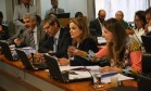 Comissão Especial do Impeachment debate relatório do senador Antonio Anastasia Foto: Ailton de Freitas / Agência O Globo