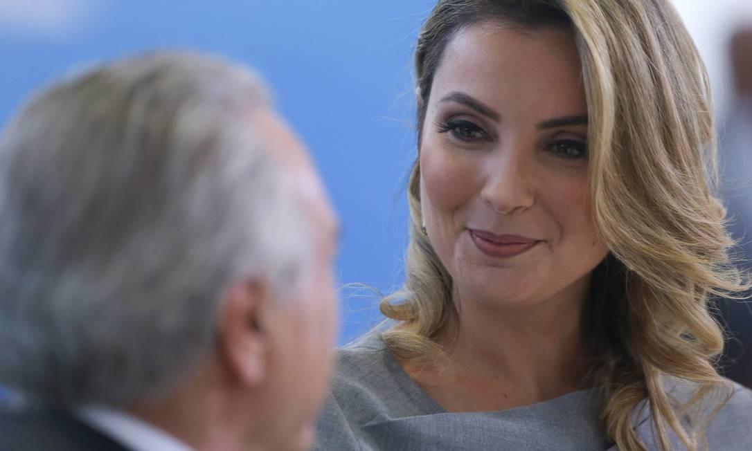 O evento é um dos maiores já feitos no governo interino Foto: ANDRE COELHO / Agência O Globo