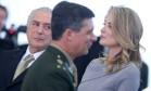 A primeira dama, Marcela Temer, participou pela primeira vez de solenidade do governo Foto: ANDRE COELHO / Agência O Globo