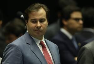 Rodrigo Maia, cotado para a liderança Foto: André Coelho / Agência O Globo