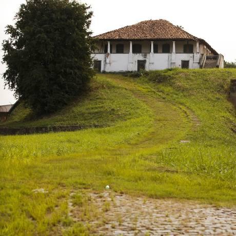 Histórico. Casa do Capão do Bispo está abandonada desde 2011 Foto: Guilherme leporace / Guilherme leporace