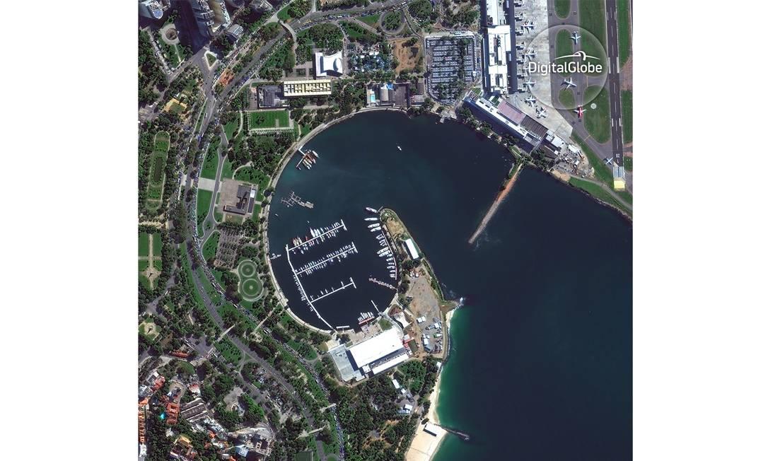 Marina da Glória HANDOUT / DIGITALGLOBE