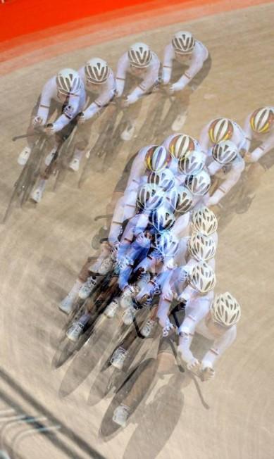 Treino livre de ciclismo no velódromo André Durão / Globoersporte.com/NOPP