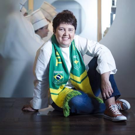 A chef Roberta Sudbrack sera a cozinheira oficial da seleção olímpica Foto: Leo Martins / Agência O Globo