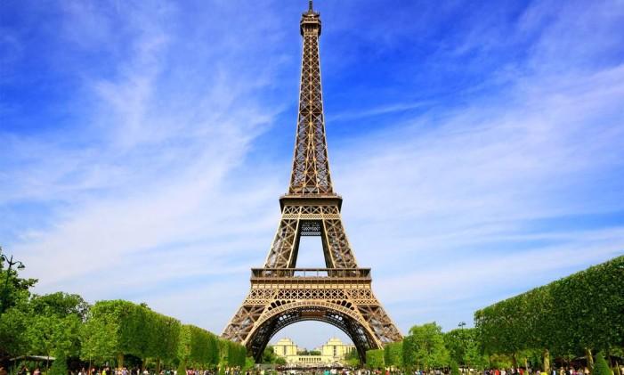 Torre Eiffel, em Paris Foto: Divulgação