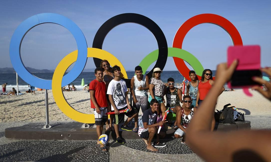 ... que virou o 'cenário oficial' para as fotos de brasileiros e estrangeiros BENOIT TESSIER / REUTERS