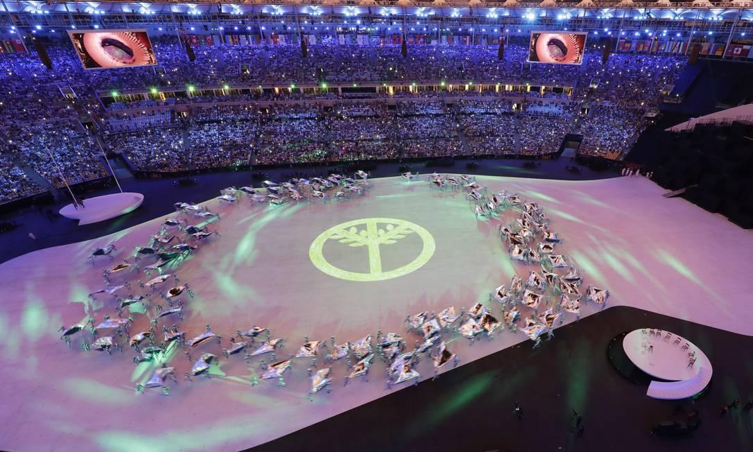 Evento começa mostrando a diversidade do Brasil Tim Donnelly / AP