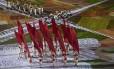 Cerimônia de abertura do Rio-2016 no Maracanã