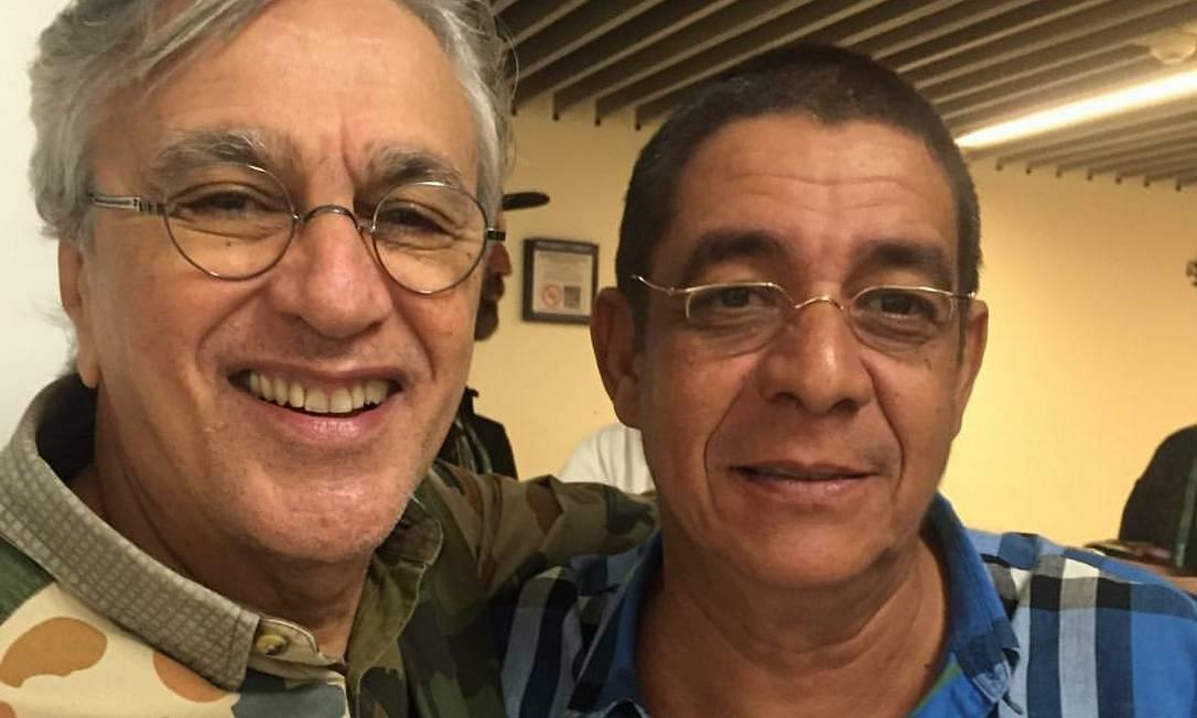 Caetano Veloso e Zeca Pagodinho Reprodução