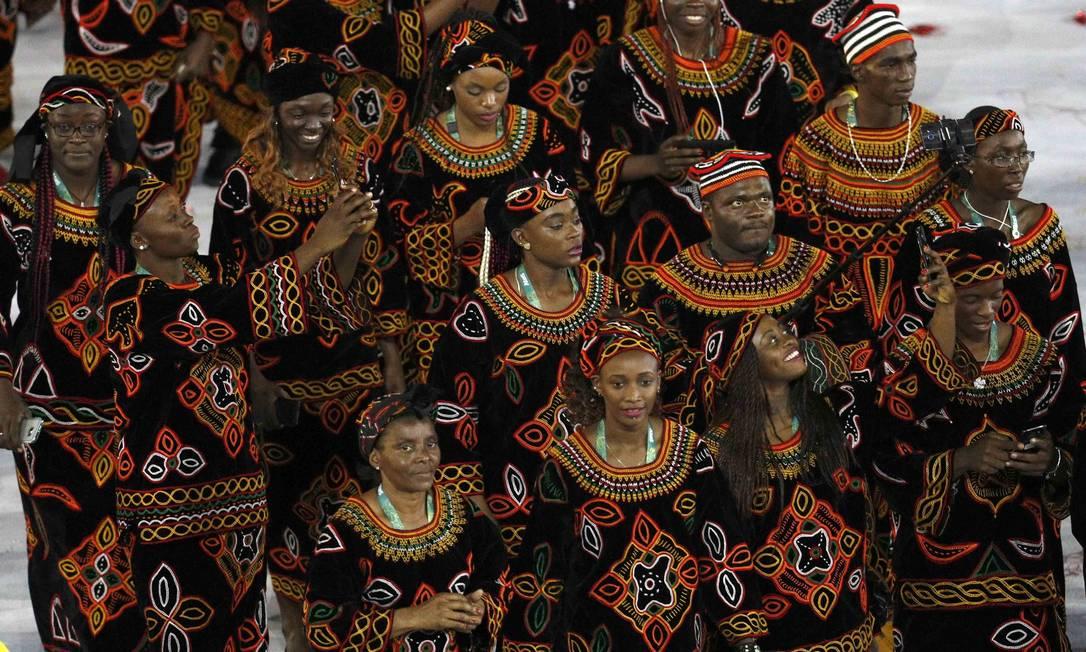 Delegação de Camarões STOYAN NENOV / REUTERS