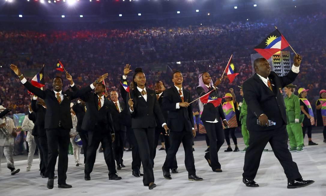 Delegação da Antígua e Barbuda KAI PFAFFENBACH / REUTERS