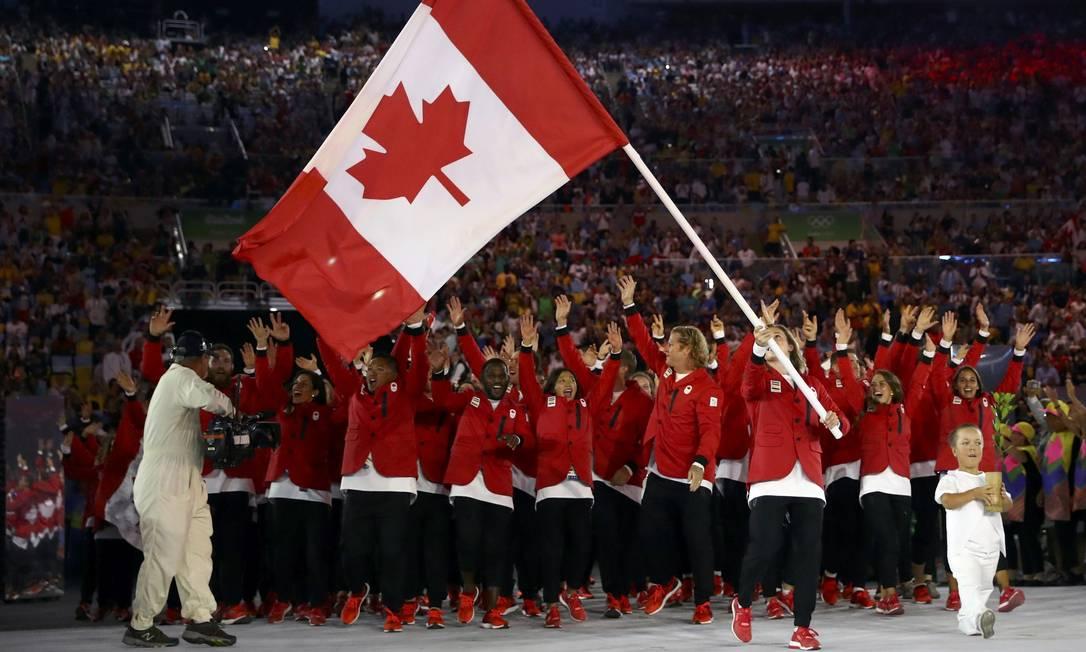 Delegação do Canadá KAI PFAFFENBACH / REUTERS