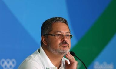 O técnico Rogério Micale Foto: Michel Filho / Agência O Globo