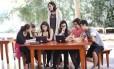 Aula de empreendedorismo social na Escola Viva