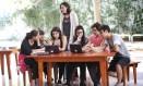 Aula de empreendedorismo social na Escola Viva Foto: Edilson Dantas/Agência O Globo