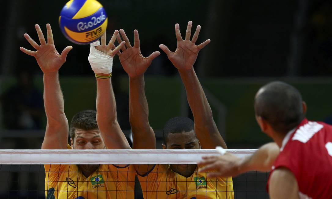 Vôlei Masculino: Brasil x México no Maracanãzinho MARCELO DEL POZO / REUTERS