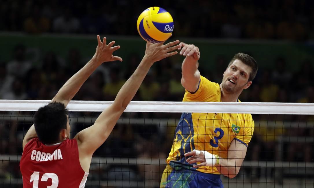 Vôlei Masculino: Brasil x México no Maracanãzinho Matt Rourke / AP