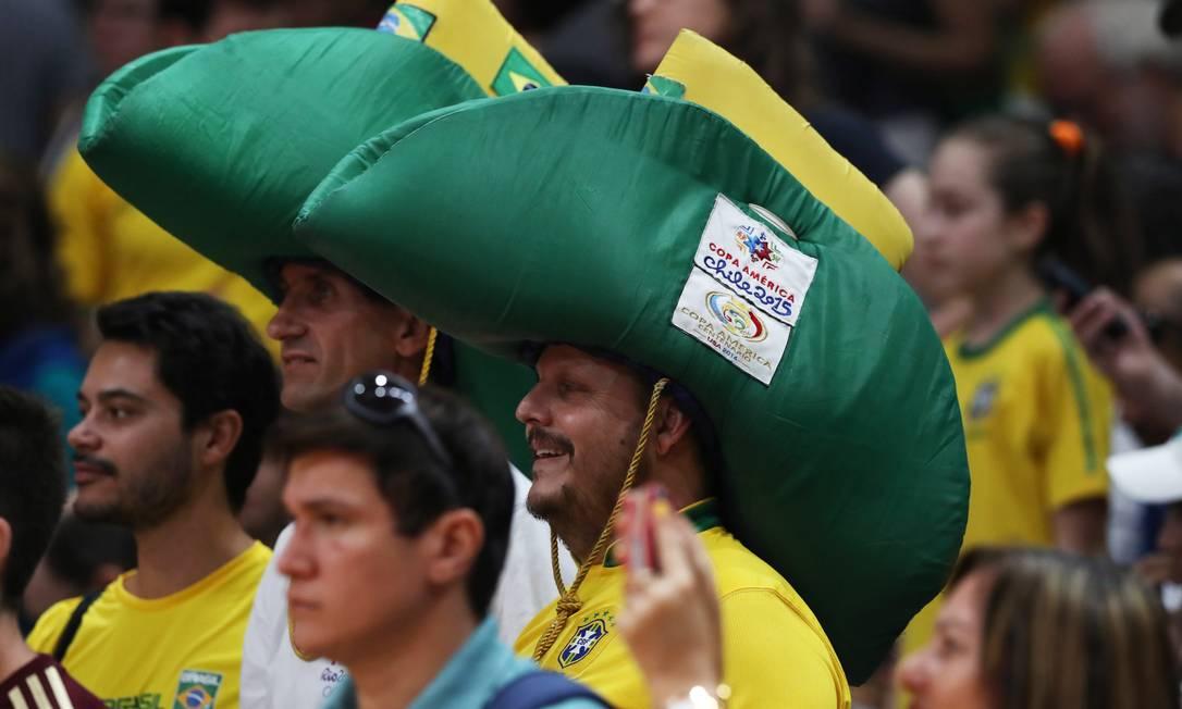 Vôlei Masculino: Brasil x México no Maracanãzinho Jorge William / Agência O Globo