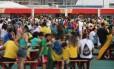 Ministério do Trabalho encontrou irregularidades na situação de funcionários que atuam nas lanchonetes da Arena Olímpica Rio