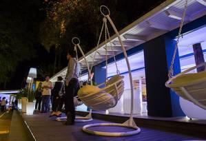 Instalada na Hípica, na Lagoa, a Casa da França aposta na programação empresarial Foto: Agência O Globo / Bárbara Lopes