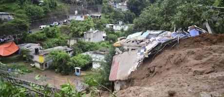 Tragédia: deslizamentos mataram ao menos 15 menores de idade no México Foto: Reprodução/Defesa Civil
