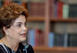 A presidente afastada Dilma Rousseff Foto: Roberto Stuckert Filho / Divulgação