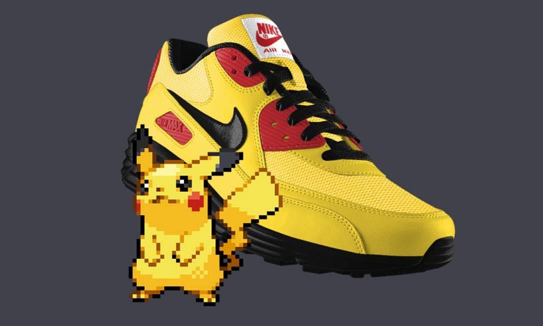 954d17fae Site combina modelos de tênis nike com Pokémons - Jornal O Globo