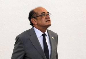 O presidente do TSE Gilmar Mendes Foto: Givaldo Barbosa / Agência O Globo