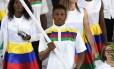 O boxeador foi o porta-bandeira da Namíbia na abertura do Jogos